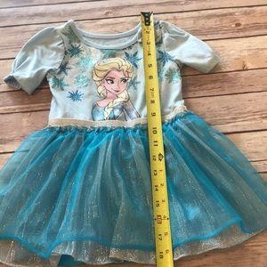 Disney Dresses - Disney frozen girls 2t blue Elsa dress